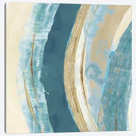 Making Blue Waves II Canvas Print #FLK62} by Flora Kouta Canvas Art