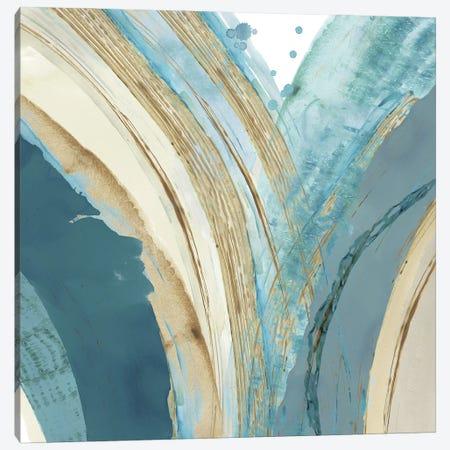 Making Blue Waves IV Canvas Print #FLK63} by Flora Kouta Canvas Artwork