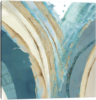 Making Blue Waves IV Canvas Art Print