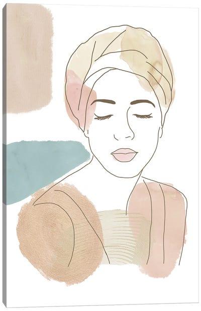 Joya Canvas Art Print
