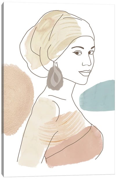 Mariam Canvas Art Print