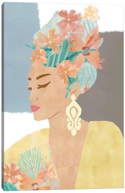 Nina In Bloom Canvas Art Print