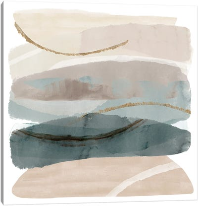 Seasalter Cliffs I Canvas Art Print