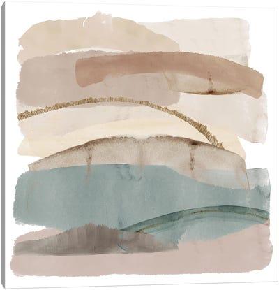 Seasalter Cliffs II Canvas Art Print