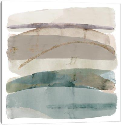 Seasalter Cliffs III Canvas Art Print