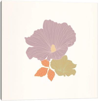Flower (Multi-Color) Canvas Print #FLPN10