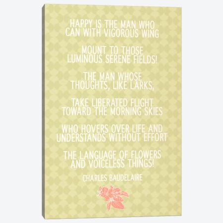 Happy Man Canvas Print #FLPN124} by 5by5collective Art Print