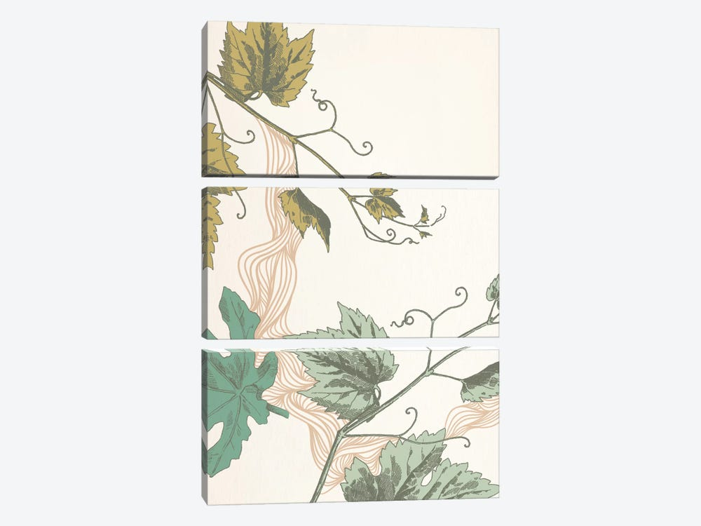 Sprigs & Ornaments by 5by5collective 3-piece Canvas Wall Art