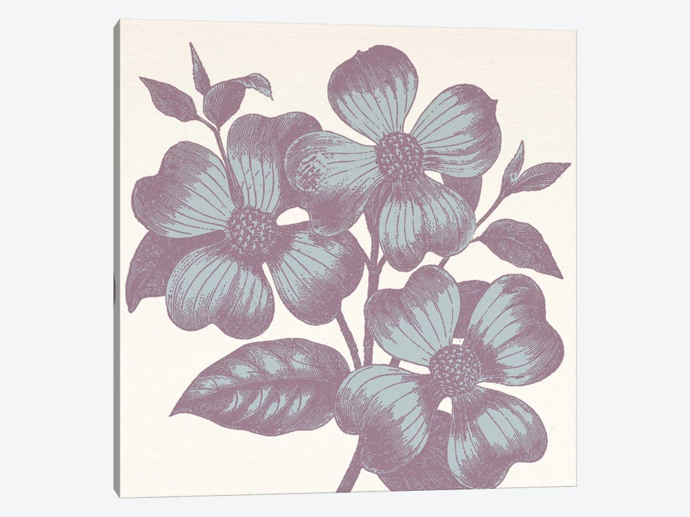 Violets by 5by5collective 1-piece Canvas Wall Art