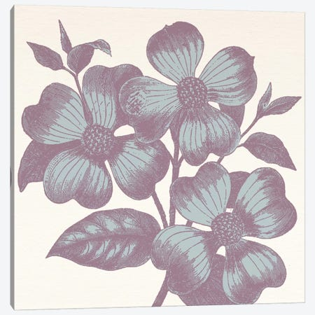 Violets Canvas Print #FLPN130} by 5by5collective Art Print