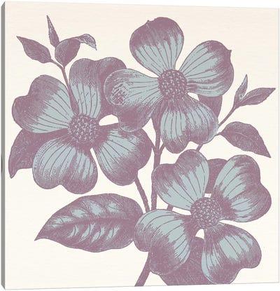Violets Canvas Art Print