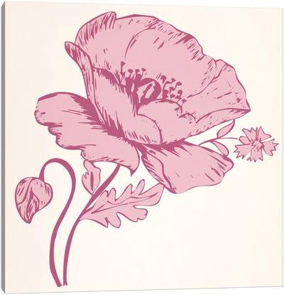 Pink Flower Canvas Print #FLPN134