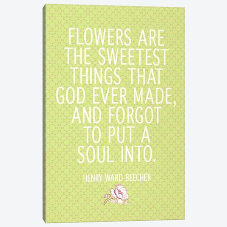 The Sweetest Thing God Ever Made Canvas Print #FLPN136} by 5by5collective Canvas Artwork