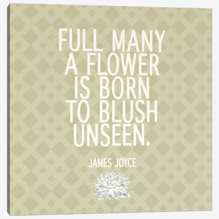 Blush Unseen Canvas Print #FLPN140} by 5by5collective Canvas Art