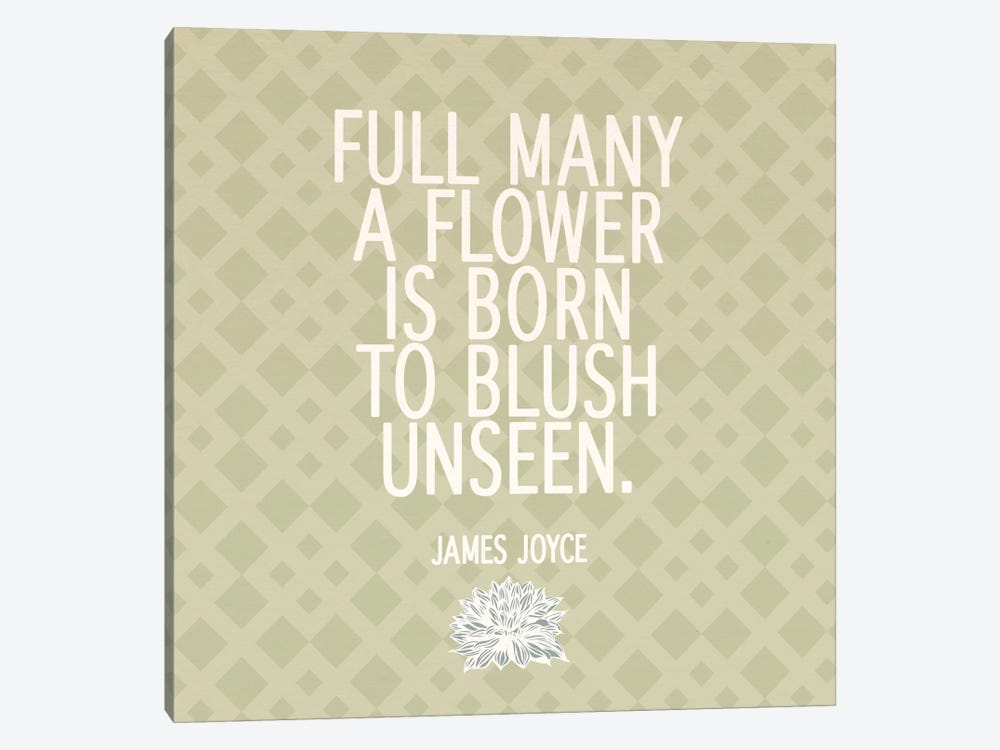 Blush Unseen by 5by5collective 1-piece Canvas Print