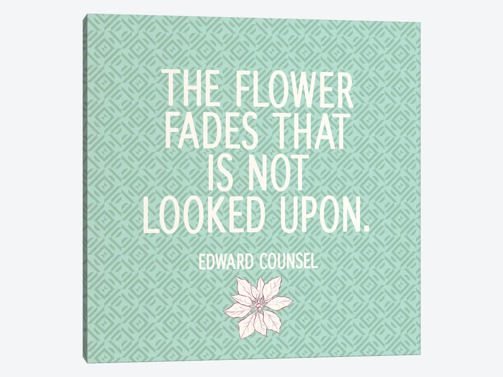 Look At Flowers 1-piece Art Print