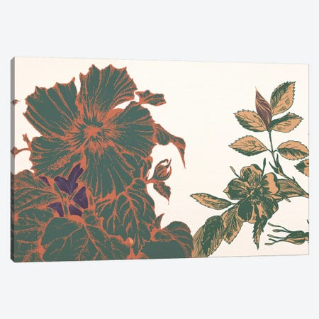 Flowers&Sprigs Canvas Print #FLPN151} by 5by5collective Canvas Art Print
