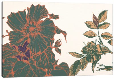 Flowers&Sprigs Canvas Print #FLPN151