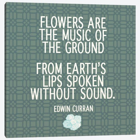 The Music of the Ground Canvas Print #FLPN160} by 5by5collective Canvas Art