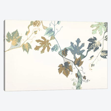 Rowan & Leaves Canvas Print #FLPN39} by 5by5collective Art Print