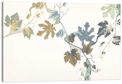 Rowan & Leaves Canvas Print #FLPN39