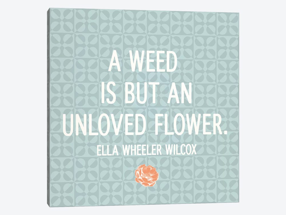 Unloved Flower by 5by5collective 1-piece Canvas Artwork