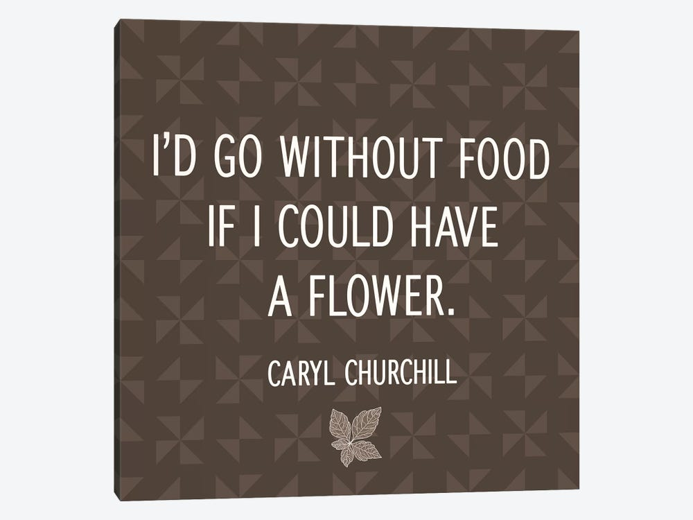 Flower for Food by 5by5collective 1-piece Canvas Print
