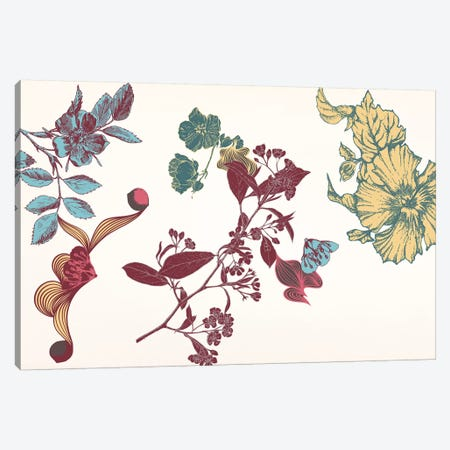 Floral Composition I Canvas Print #FLPN67} by 5by5collective Canvas Print