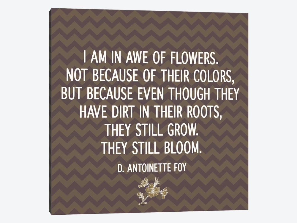 Awe of Flowers by 5by5collective 1-piece Art Print
