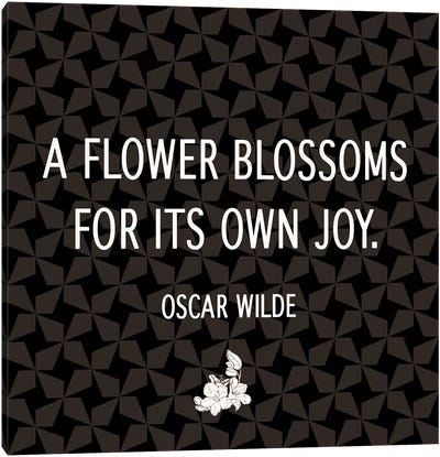 Blossom for Yourself Canvas Art Print