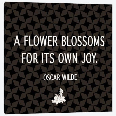 Blossom for Yourself Canvas Print #FLPN76} by 5by5collective Canvas Art