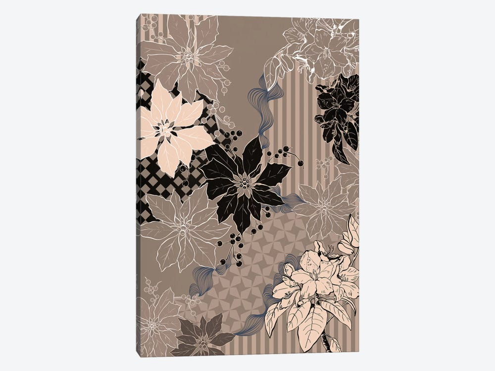 Floral Composition IV by 5by5collective 1-piece Canvas Print