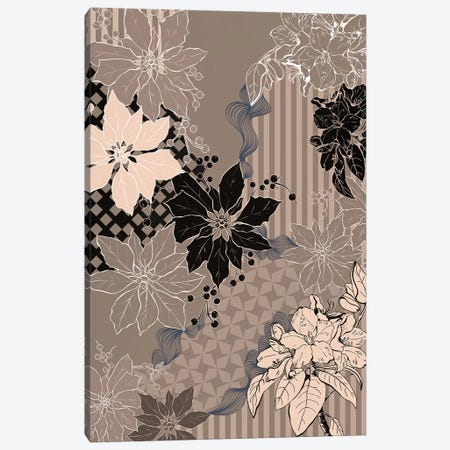 Floral Composition IV Canvas Print #FLPN77} by 5by5collective Canvas Artwork