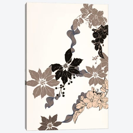 Floral Ornament Canvas Print #FLPN79} by 5by5collective Art Print