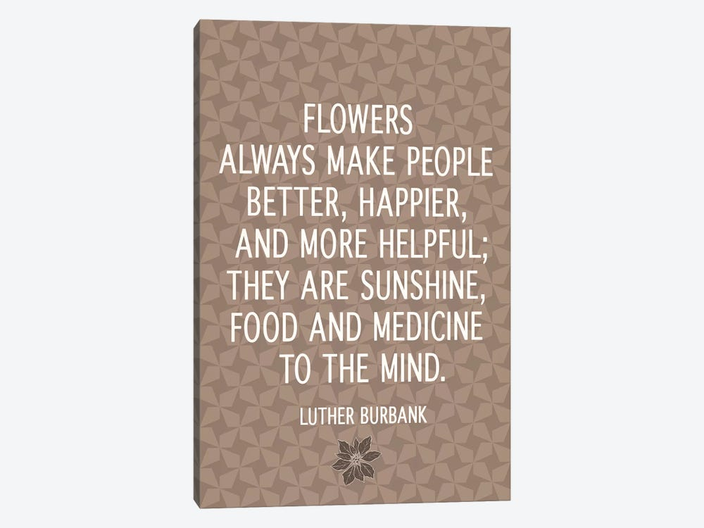 Flowers Are Happiness by 5by5collective 1-piece Art Print
