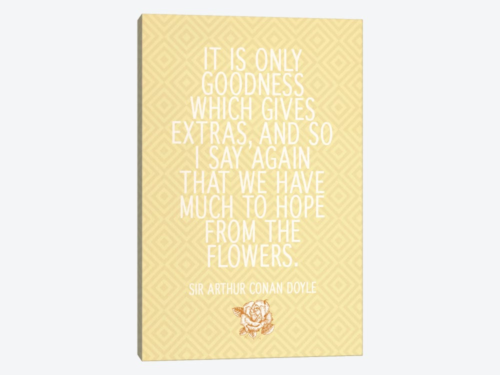 Goodness Gives Extras by 5by5collective 1-piece Canvas Wall Art