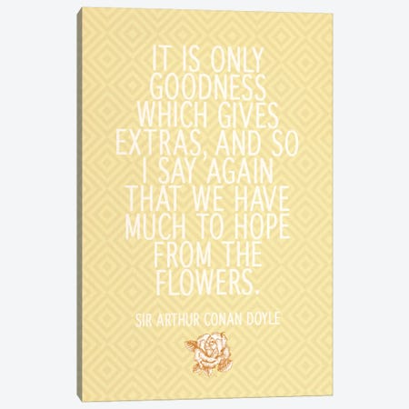 Goodness Gives Extras Canvas Print #FLPN96} by 5by5collective Canvas Wall Art