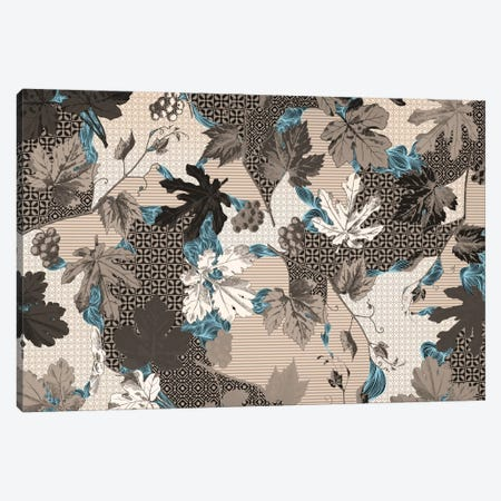 Leaves & Patterns Canvas Print #FLPN97} by 5by5collective Canvas Wall Art