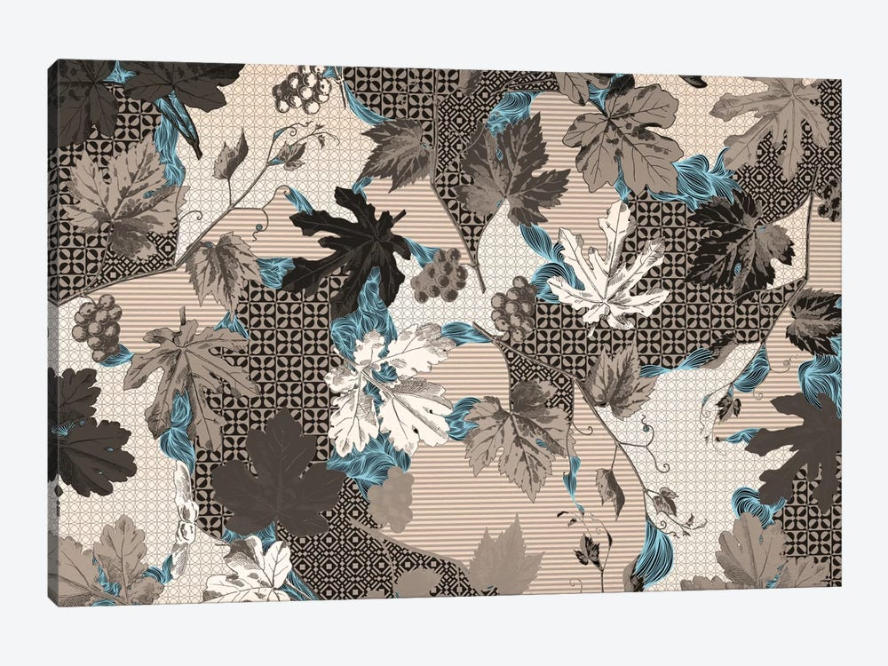Leaves & Patterns by 5by5collective 1-piece Canvas Print