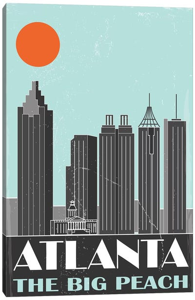 Atlanta Canvas Art Print