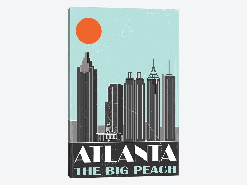 Atlanta by Fly Graphics 1-piece Canvas Art Print