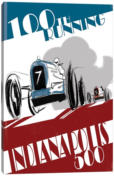 Indy 500 Canvas Art Print