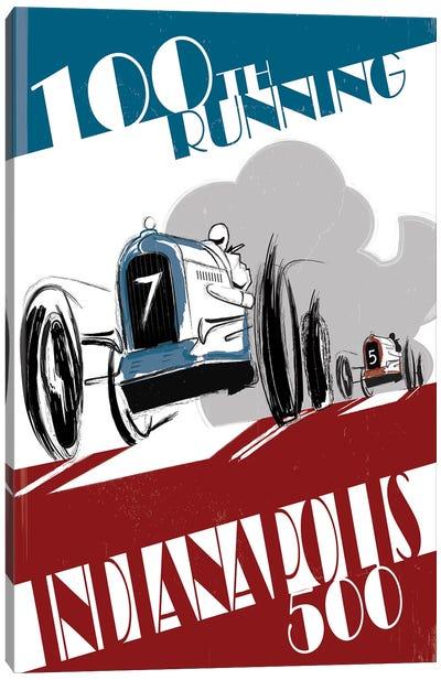 Indy 500 Canvas Art Print