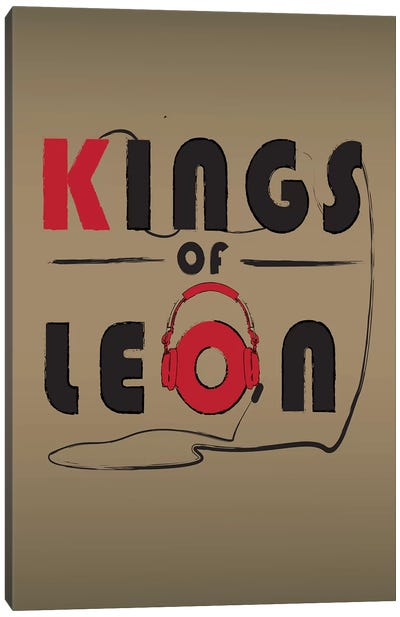 Kings Of Leon Canvas Art Print