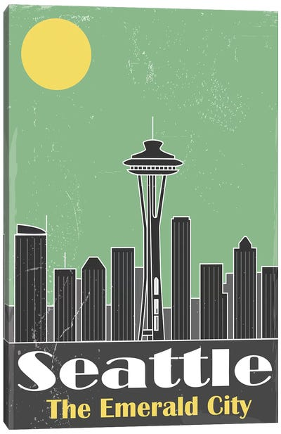 Seatle Canvas Art Print