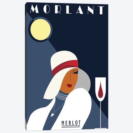 Morlant Merlot Canvas Print #FLY49} by Fly Graphics Canvas Art