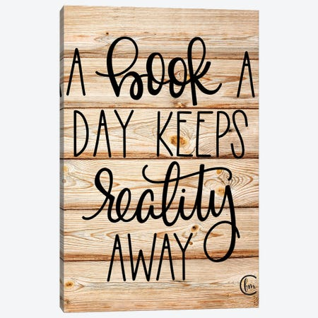 A Book a Day Canvas Print #FMC11} by Fearfully Made Creations Canvas Wall Art