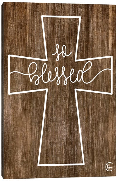 Blessed Cross Canvas Art Print