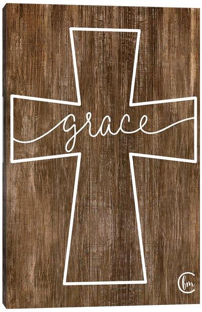 Grace Cross Canvas Art Print