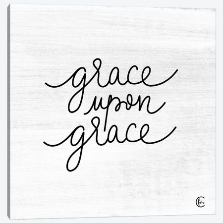 Grace Upon Grace Canvas Print #FMC24} by Fearfully Made Creations Canvas Wall Art